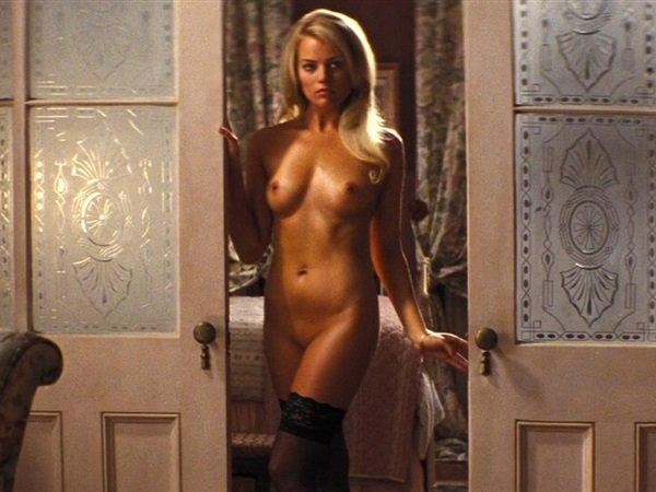 Margot robbie wolf of wall nude