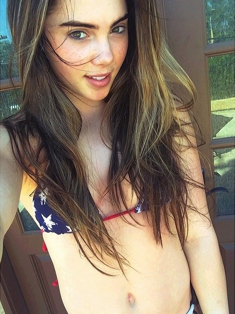 McKayla Maroney Posts A Series Of Bikini Pics