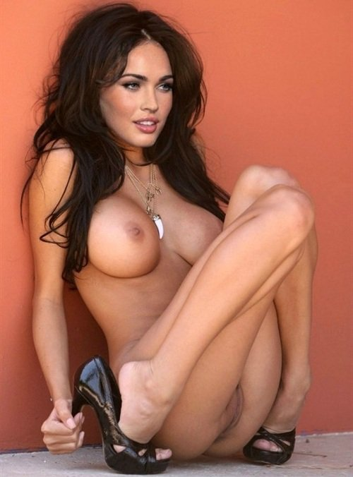 Megan Fox naked