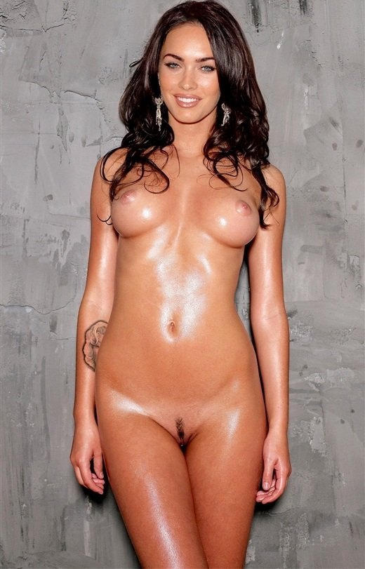 Megan Fox sweaty nude