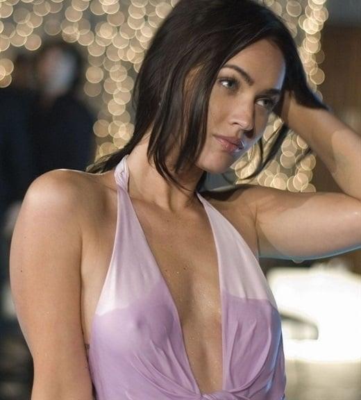 Megan Fox wet dress