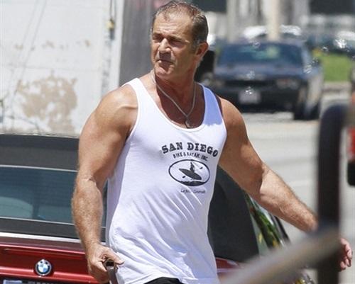 Mel Gibson's Anti-Semitic Workout