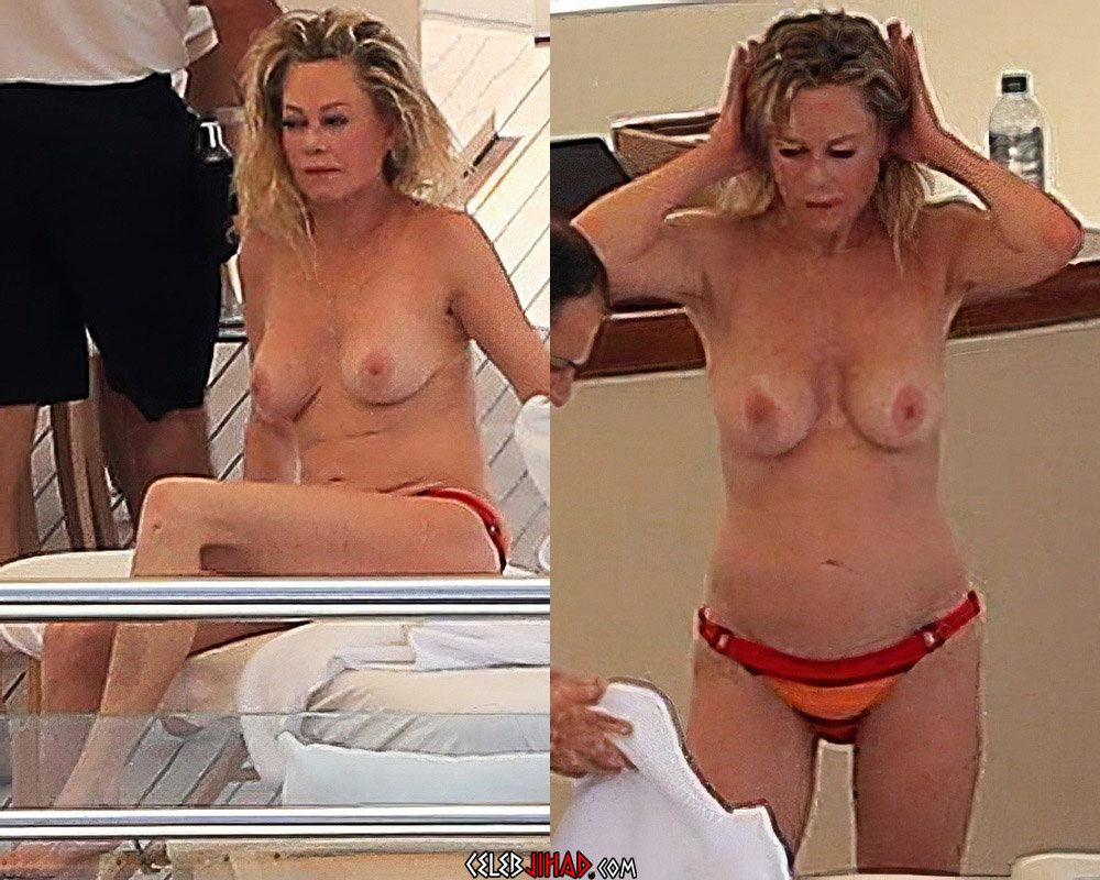Melanie Griffith topless nude