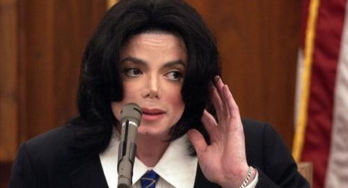 Michael Jackson pee