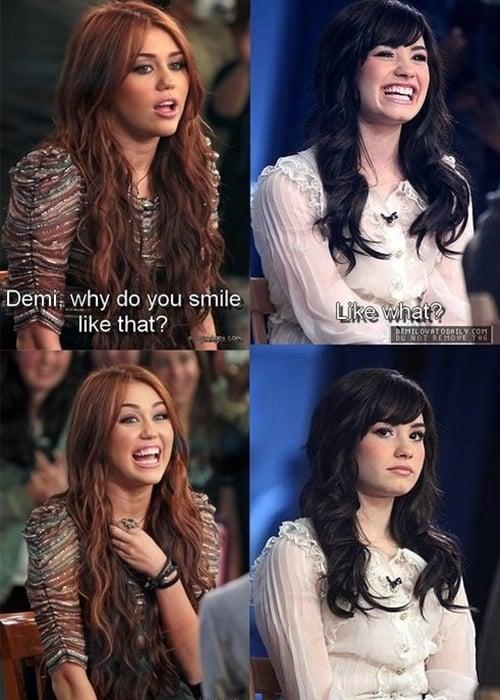 Miley Cyrus Demi Lovato