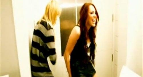 Miley Cyrus spank