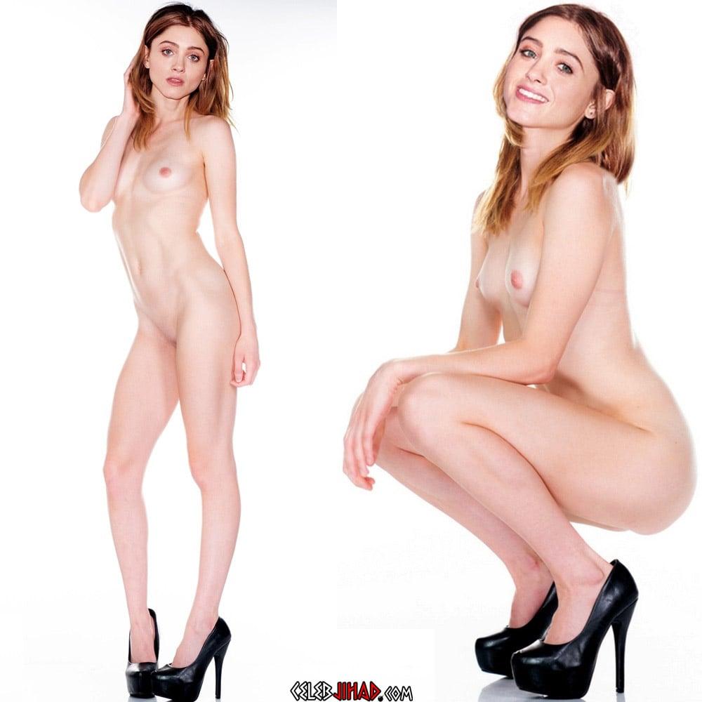 Natalia Dyer nude