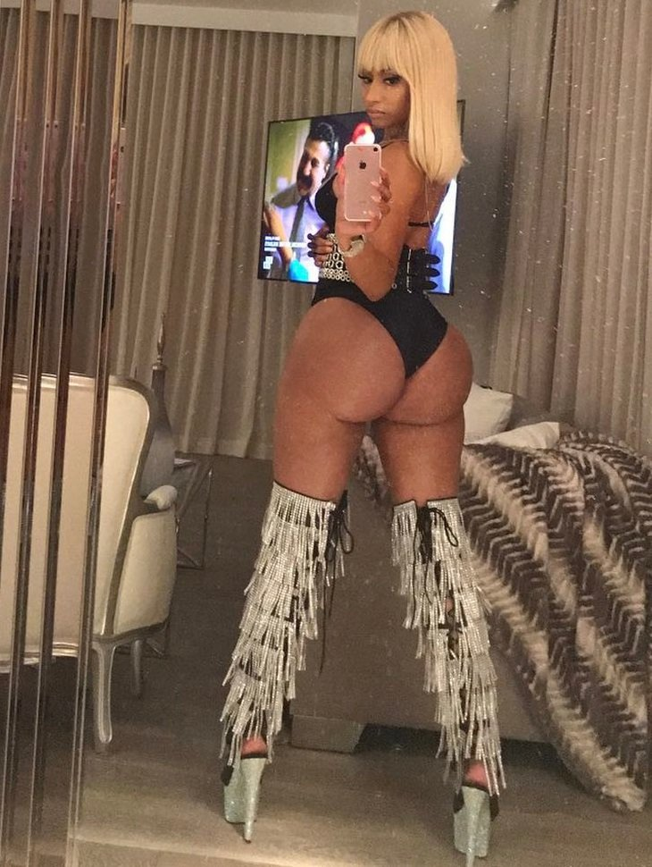 Nicki minaj sex tape booty