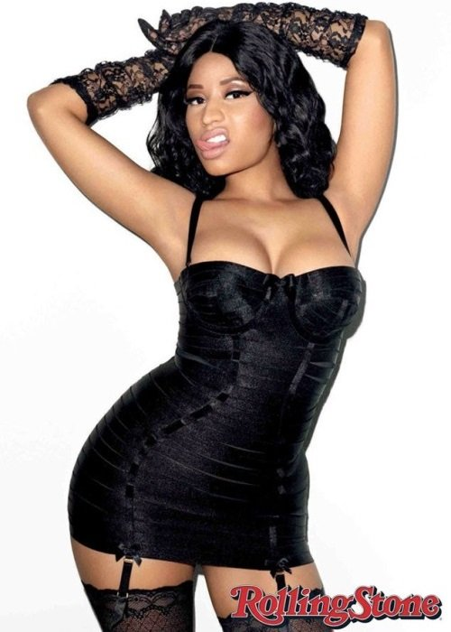 Nicki Minaj's Sweaty Tits On The Cover Of Rolling Stone