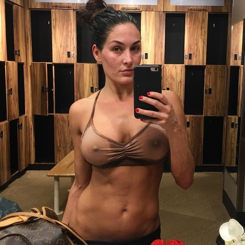 Brie bella naked