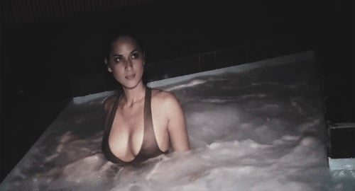 Olivia Munn Hot Tub