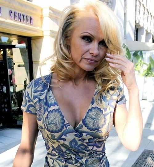 Pamela Anderson old