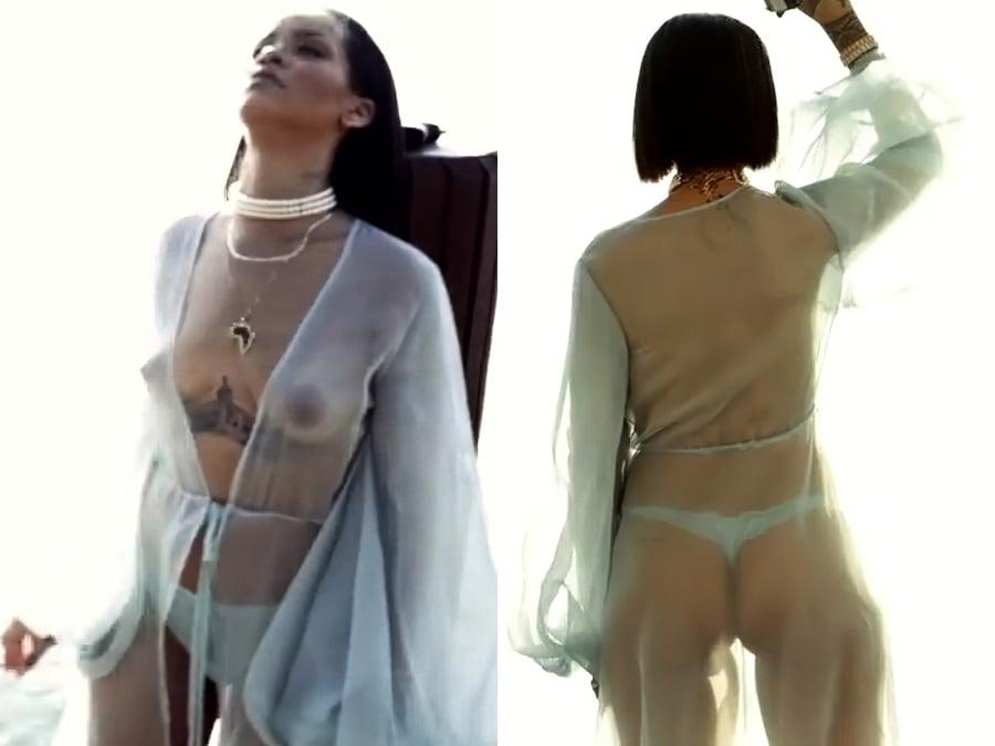 Rihanna Nude And Rihanna Nicki Minaj Nude Photos