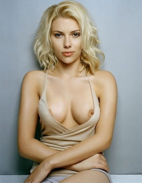 Scarlett Johansson nipples