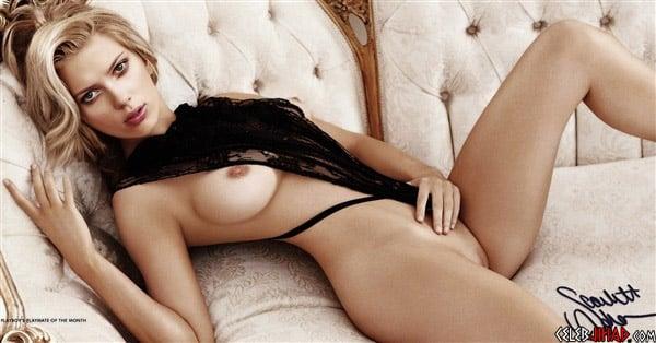 Scarlett Johansson Poses Nude For Playboy