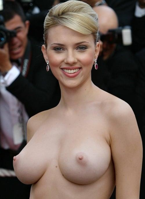 Scarlett johansson shemale fake