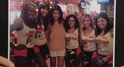 Selena Gomez Hooters