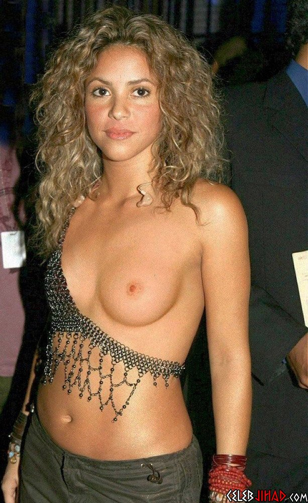 Shakira's Nude Past Uncovered