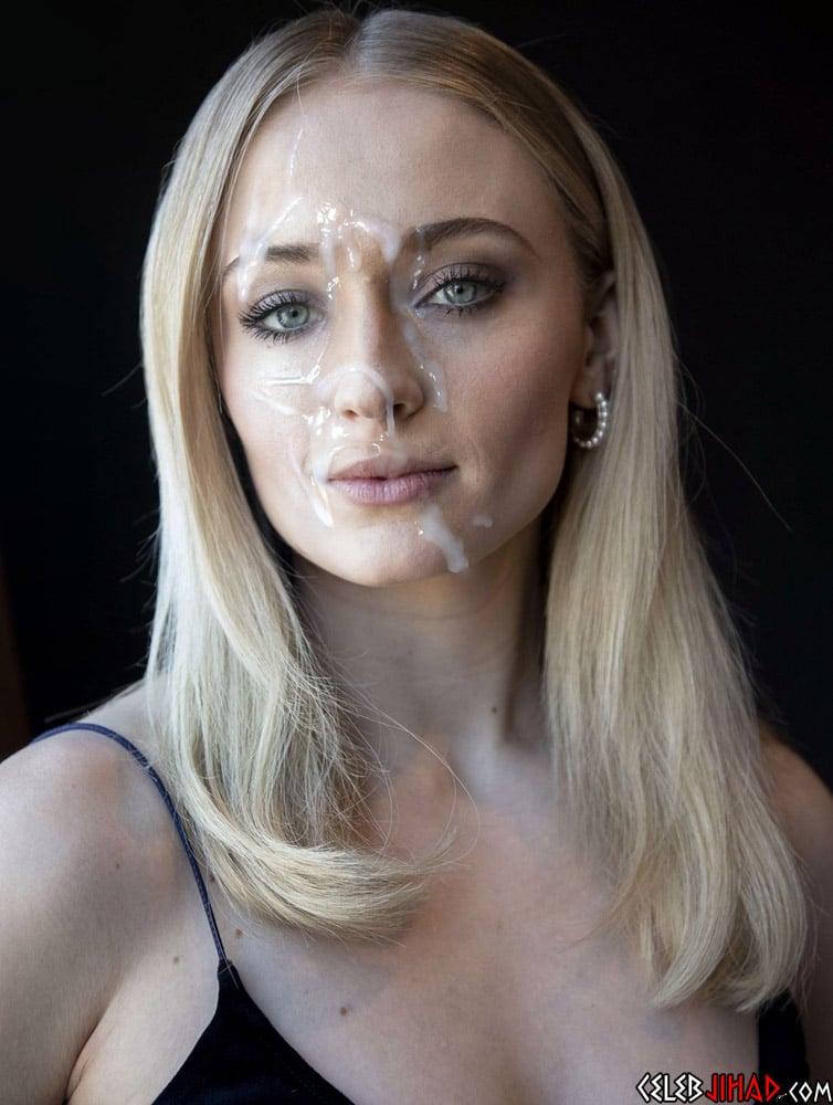 Sophie Turner facial