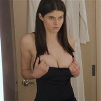 "Alexandra Daddario Sex Scene From ""The Layover"""
