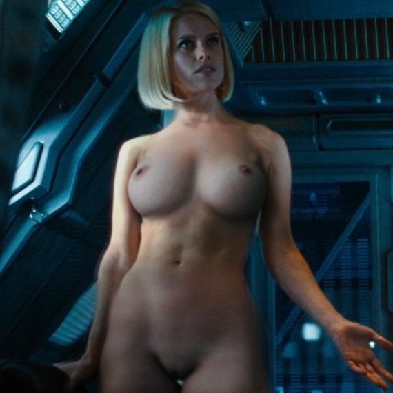 Alice Eve Gets Naked For Attention-5994