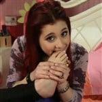 Ariana Grande Has A Sick Foot Fetish