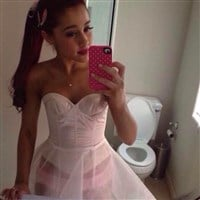 Ariana Grande Shows Off Her Pink Panties