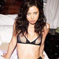 Aubrey Plaza's Nipples In A See Thru Bra