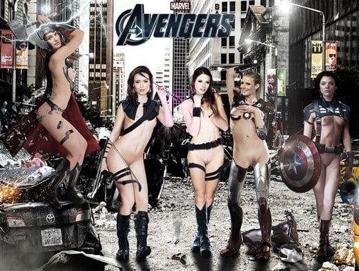 Avengers Nude