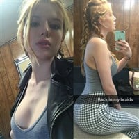 Bella Thorne Whores Her Tits, Ass, And Feet On Snapchat