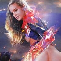 "Brie Larson Nude Sex Scenes ""Captain Marvel 2"" Preview"