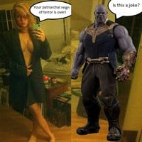 Brie Larson Nude Thanos Battle Leaked