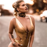 Chanel West Coast Flaunts Her Tits And Ass In A Thong Swimsuit