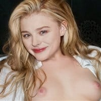 Chloe Grace Moretz Naked With Her Legs Spread