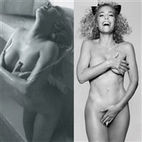 Christina Aguilera And Gillian Anderson's Irrelevant Old Lady Nudity