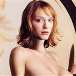 Christina Hendricks Topless Mirror Pic