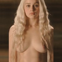 "All of Emilia Clarke's ""Game of Thrones"" Nude Scenes Brightened In HD"