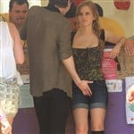 Emma Watson Gets Fingered At The County Fair