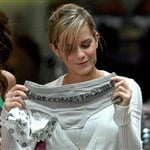 Emma Watson Goes Shopping For Panties