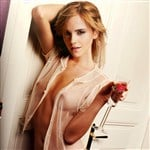 Emma Watson See Through Top No Bra Pic