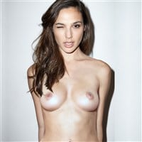 Gal Gadot Topless Photo Shoot