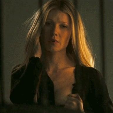 Gwyneth Paltrow Showing Her Nipple GIF