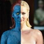 Jennifer Lawrence's X-Men Naked Body Exposed