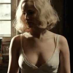 Jennifer Lawrence Nips Out In New Film 'Serena'