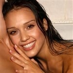 Jessica Alba Bathing Naked With Another Woman