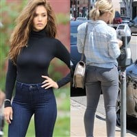 Jessica Alba vs Hilary Duff: MILF Battle Of The Mom Jeans