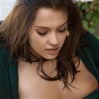 Jessica Alba Naked And Rubbing Herself