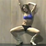 Jessica Alba Stripper Rehearsal Video For 'Sin City 2′
