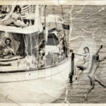 John F. Kennedy On A Boat Filled With Naked Women