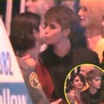 Justin Bieber Selena Gomez Caught Kissing Video